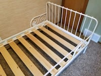 IKEA Twin Bed frame (metal) Girls Andover, 55304