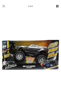 Fast & Furious Remote Control Toy Elite Ice Charger
