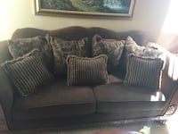 Brown Fabric Couch Las Vegas, 89113