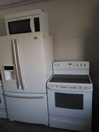 White appliances Fridge Stove and Microwave New Port Richey, 34652
