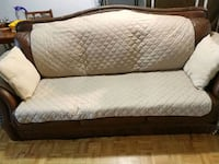 Extra large leather sofa - Brown Toronto, M6H 1V5