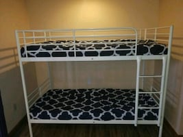 Metal Bunk Bed (FRAME ONLY)