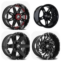 Off road wheels 20x10 Chevy Ford Toyota Dodge GMC JEEP T Miramar