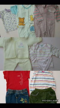 6M to 12M baby girl clothing lot  Calgary, T3K 0G2