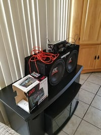 Jvc stereo subs and 1200 watt amp 2 yrs old  Utica, 13502