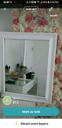 white wooden framed glass display cabinet Vancouver, V5X 1N4