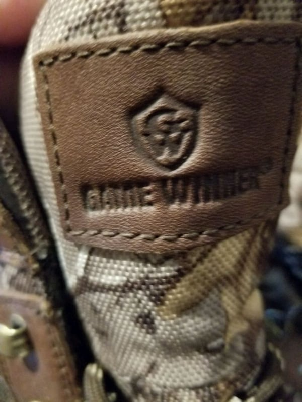 Game winner waterproof size 12 lace up boots  19743a34-be56-488b-bba7-f7388c057aa0