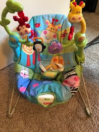 baby's blue and green bouncer Tempe, 85283