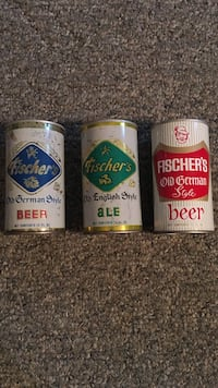 fisher's old berman style beer can.