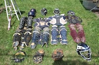 Baseball Catcher gear (adult and some YA) CHARLESTOWN