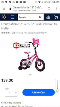 Minnie mouse bike and helmet  Laredo, 78040