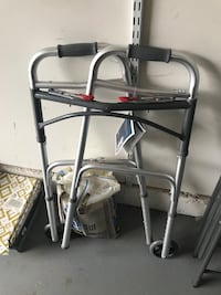 Drive Medical Two Button Folding Walker Chantilly, 20152