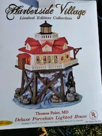 Harbor Village Porcelain light house  497 mi