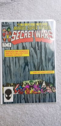Secret Wars #4 Woodbridge, 22192