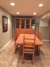 table, 6 chairs, cabinet Vaughan, L4L 7L5