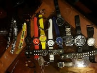assorted-color analog watch lot Vancouver, V5X 2M5
