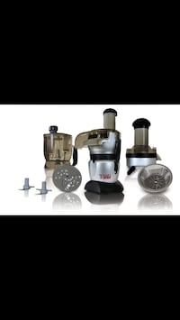 Gray and black food processors Anchorage, 99507
