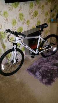 white and black Cross hardtail mountain bike Newcastle upon Tyne, NE6