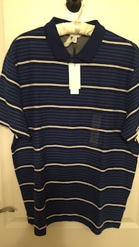 NWT Calvin Klein men's body fit blue golf shirt sz XL Toronto, M3C 3L7