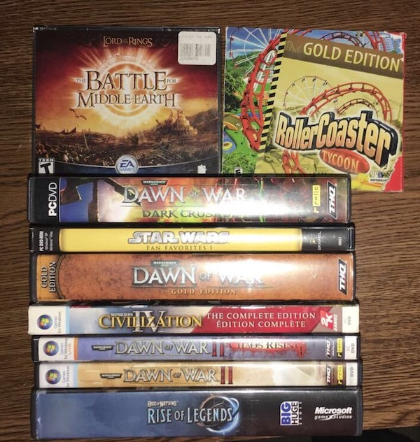 PC games (negotiable price each)