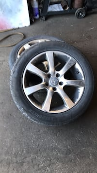 G35 rims set of 4 with tires Toronto, M2R 3N8