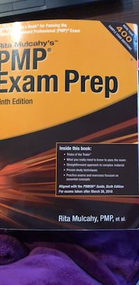 PMP Exam Prep book Sandy Springs, 30350