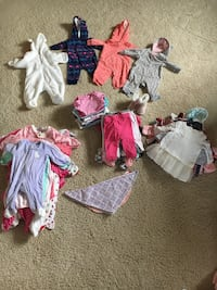 Toddler's assorted clothes Lakeshore, N0R
