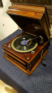 Antique Columbia Grafonola Tabletop Phonograph Victrola Record Player Fairfax, 22032