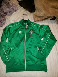 green and white zip-up hoodie Vacaville, 95688