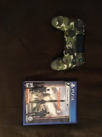 Ps4 controller and the division 2