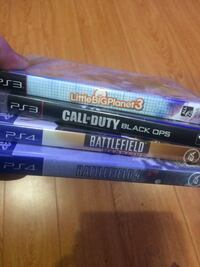 PS3 and PS4 games Pickering, L1V 1S4