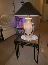 Two lamps two tables