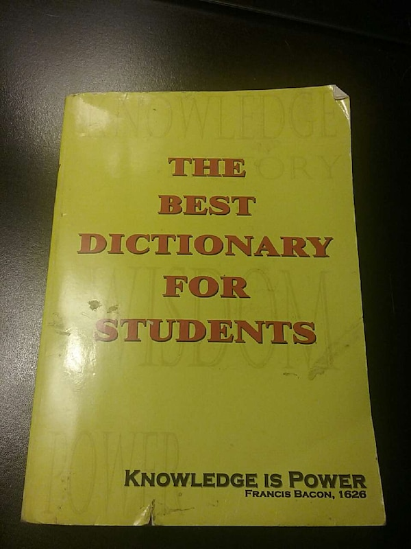 the best dictionary for students knowledge is power francis bacon 1626 book