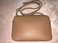 brown Michael Kors leather crossbody bag Los Angeles, 90017
