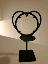 Iron Tea Light Lamp-Heart Shaped Brunswick, 21716