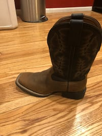 pair of brown leather cowboy boots Westminster, 80031