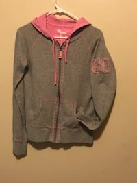 gray and red zip-up hoodie Idaho Falls, 83401