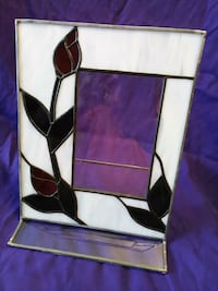 Tiffany Style All Glass Picture Frame Fort Thomas