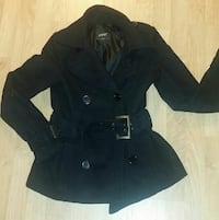 Beautiful Black Woman's Coat XS - Eve