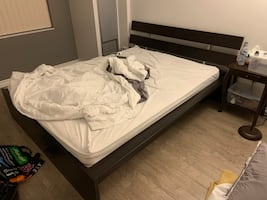 Queen Size IKEA Bed - PICK UP TODAY