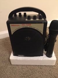 HiSonic HS-120b Rechargeable Portable Wireless PA Amplifier Wilmington, 28403