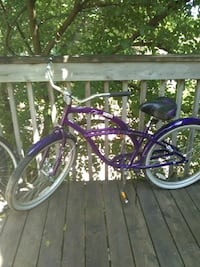 purple and black cruiser bike Saint Paul, 55106