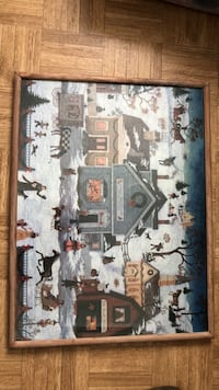 Framed holiday Christmas Puzzle Richland, 99354