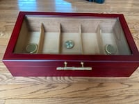 Cigar Humidor - very nice quality. Excellent condition!! Sioux Falls, 57103