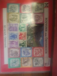Stamps From Austria PURCELLVILLE