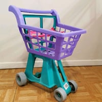 Toy shipping cart