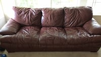 Leather Couch Mc Lean, 22102