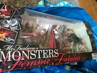 Monsters Femme Fatales action figure set pack Vallejo, 94591