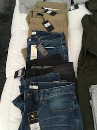 Men's clothing **brand new with tags**