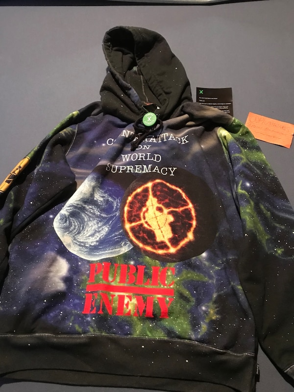 sleek buy best fashion style of 2019 supreme undercover public enemy fear of a black planet hoodie space